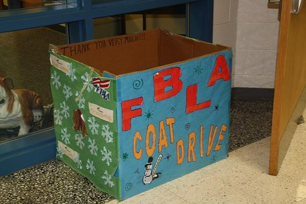FBLA Coat Drive Gives Back