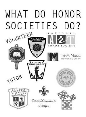Honor societies help community, school