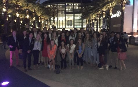 Students in DECA travel to Anaheim, CA