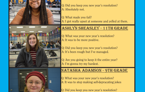 New Year's Resolutions from SBHS Students