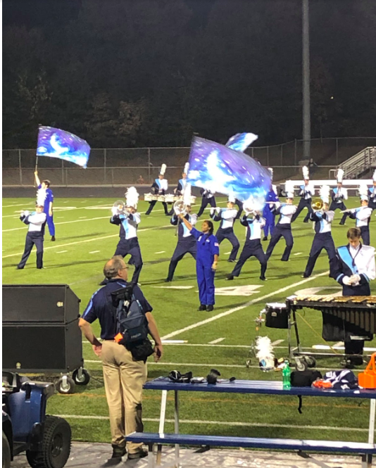 Color Guard Blasts Into the New Season
