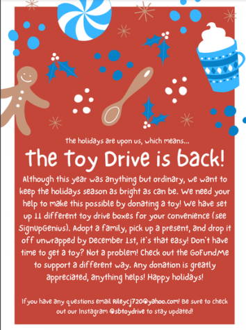 The Terrific Toy Drive