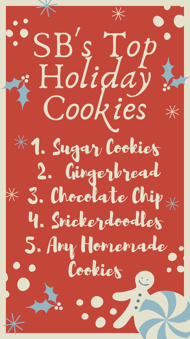 SBs Top Holiday Cookies